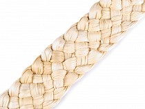 Natural Braided Corn Straw Ribbon