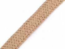 Splietaný popruh / slamená páska šírka 30 mm