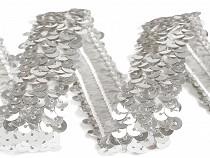Flitrový prýmek šíře 20 - 30 mm elastický