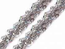 Sequin Gimp Trim Braid width 15 mm Hologram effect
