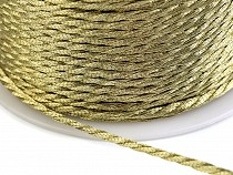 Twisted Cord Ø1.5 mm with metallic thread