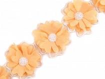 Borte mit Blumen und Perlen 58 mm