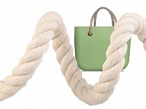 Twisted Cotton Rope for Handbag Handle Ø20 mm stiff