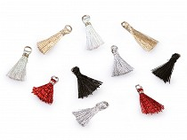 Mini Tassel with Lurex and Loop length 12 mm