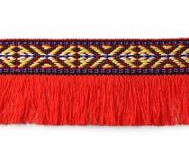 Prámik indiánsky so strapcami šírka 35 mm