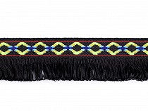 Native Indian Trim with Tassel width 30 mm
