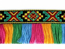 Native Indian Trim with Tassel width 45 mm