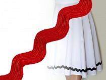 Wide Ric Rac Ribbon width 20 mm