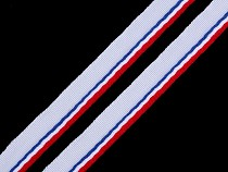 Bias Insertion Piping Tricolor width 9 mm