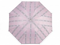 Női kilövős esernyő gyerek kockamintás