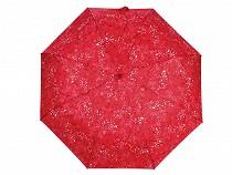 Dámsky skladací vystreľovací dáždnik