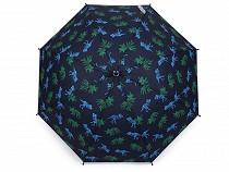 Dětský vystřelovací deštník s píšťalkou vesmír, dinosaurus
