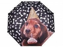 Folding Umbrella Puppy Dog
