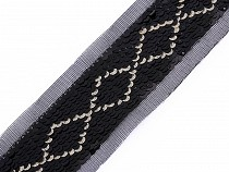 Sequin Trim with 40 mm