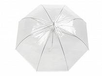 Parasol damski  przezroczysty