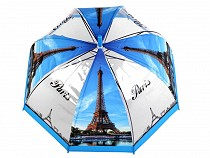 Dámský průhledný deštník Paříž