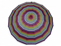 Velký rodinný deštník duha
