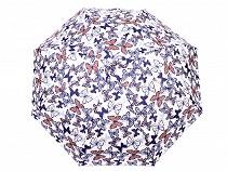 Dámský mini skládací deštník motýl