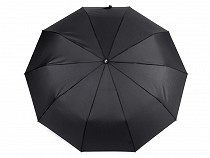 Mens Flolding Auto-open Umbrella with Leather Handle