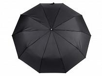 Regenschirm für Herren Automatik mit Ledergriff