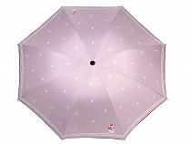 Dámsky skladací dáždnik námornícky