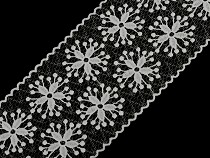 Embroidered Lace / Insert width 11 cm