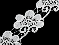 Embroidery Lace Trim width 75 mm