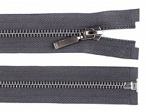 Fém / sárgaréz zipsz szélessége 6 mm hossza 65 cm