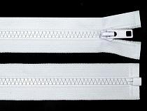Kostěný zip šíře 5 mm délka 65 cm bundový