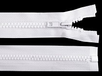 Kostěný zip šíře 5 mm délka 105 cm bundový