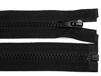 Reißverschluss aus Kunststoff Breite 5 mm Länge 105 cm für Jacken schwarz
