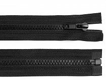 Plastic / Vislon Zipper width 5 mm length 140 cm jacket