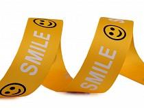 Taśma lampas / rypsowa szerokość 24 mm Smile