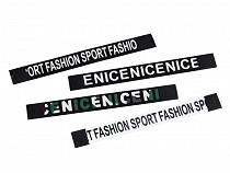 Benzi decorative confecții Nice, Sport, Fashion, 1,8x17 cm