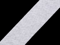 Ferde szalag pamut rugalmas szélessége 30 mm vasalt