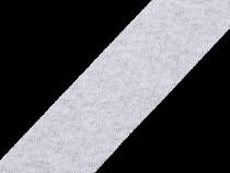 Cotton Bias Binding Tape width 30 mm not-folded, elastic