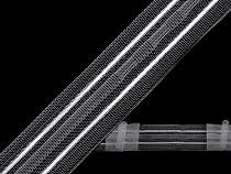 Függönyanyag szélessége 25 mm 3 redő