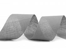 Ruban de biais en coton, largeur non pliée 40 mm