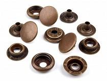 Kovové druky Ø15 mm ( AM6)-sypané  staromosadz