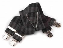 Trouser Braces / Suspenders width 3.5 cm length 125 cm X-Back