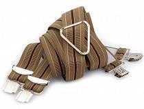 Trouser Braces / Suspenders width 3 cm length 125 cm X-Back