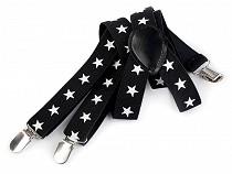 Children Trouser Bracers / Suspenders Guitar, Skull