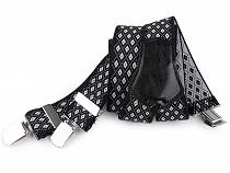 Trouser Braces / Suspenders width 3.5 cm length 120 cm