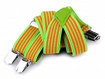 Children Trouser Bracers / Suspenders Stripes, Cubes