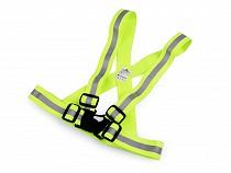 Kids Reflective Elastic Suspenders, width 4 cm