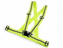 Adult Reflective Elastic Suspenders, width 4 cm
