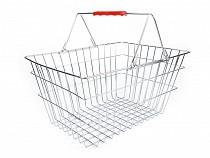Koszyk metalowy na zakupy
