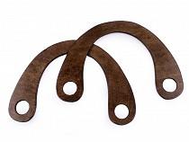 Taschengriffe aus Holz Größe 15x22cm mit Löchern