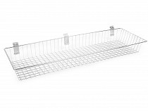 Grid Wall / Slat Wall Hanging Wire Basket