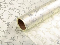 Satin Fabric with Glitters width 36 cm